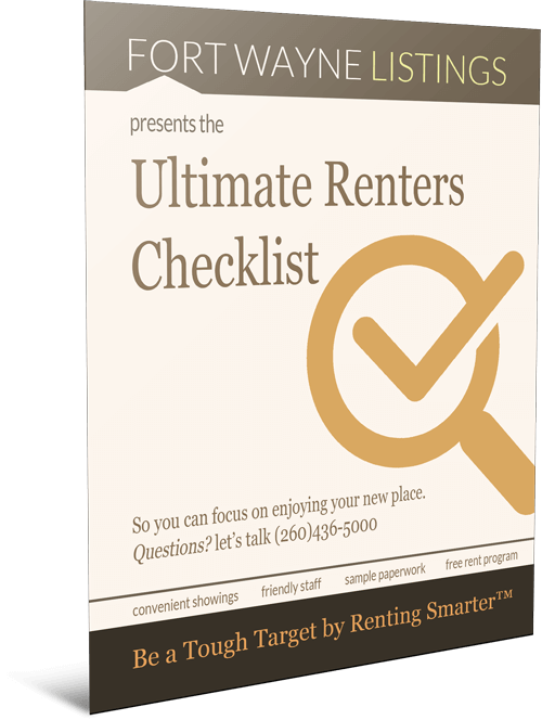 Ultimate Renters Checklist: Be a Tough Target by Renting Smarter™